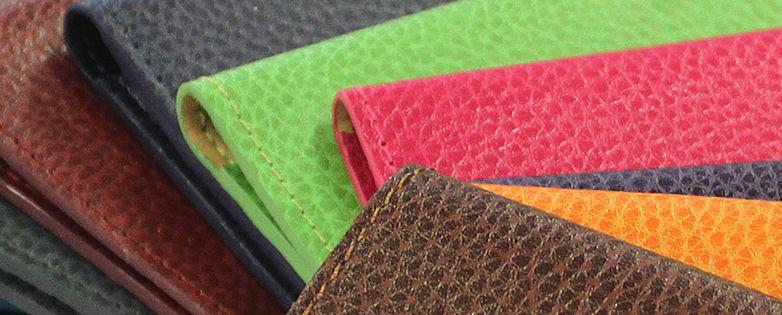 Agenda cuir personnalisé