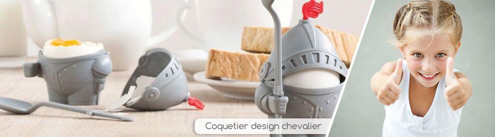Coquetier design chevalier