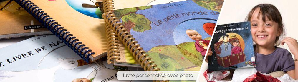 Livres personnalisés avec photo