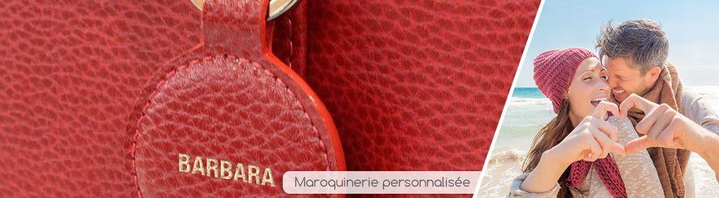 Maroquinerie personnalisée