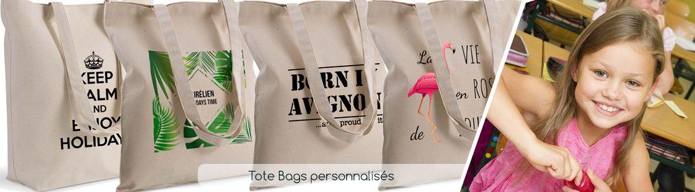 Tote Bags personnalisés