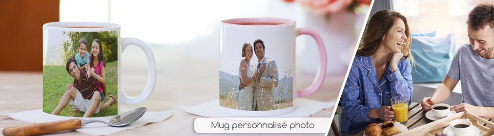 Mug photo personnalisée
