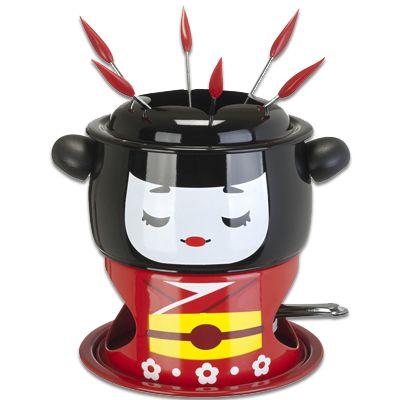 appareil fondue geisha une id e de cadeau original. Black Bedroom Furniture Sets. Home Design Ideas