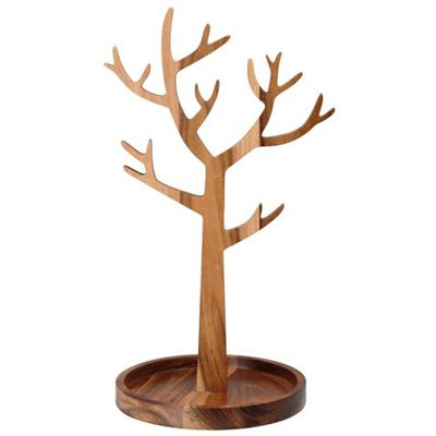 arbre bijoux en bois une id e de cadeau original amikado. Black Bedroom Furniture Sets. Home Design Ideas