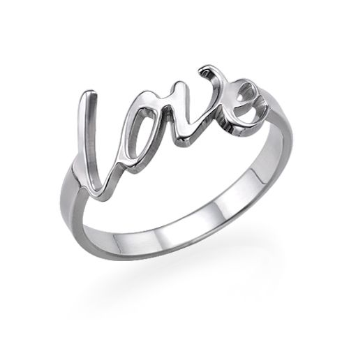Bague Love personnalisée