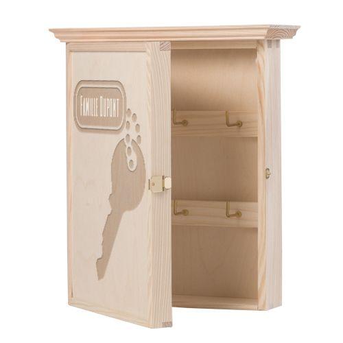 Boîte à clés personnalisée