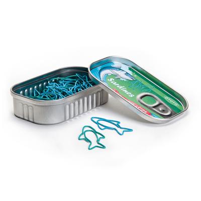 Boîte de trombones sardines