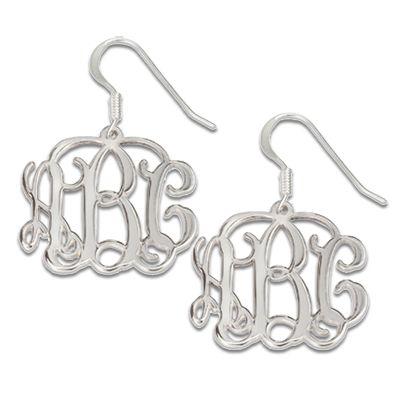Boucles D'oreilles initiales
