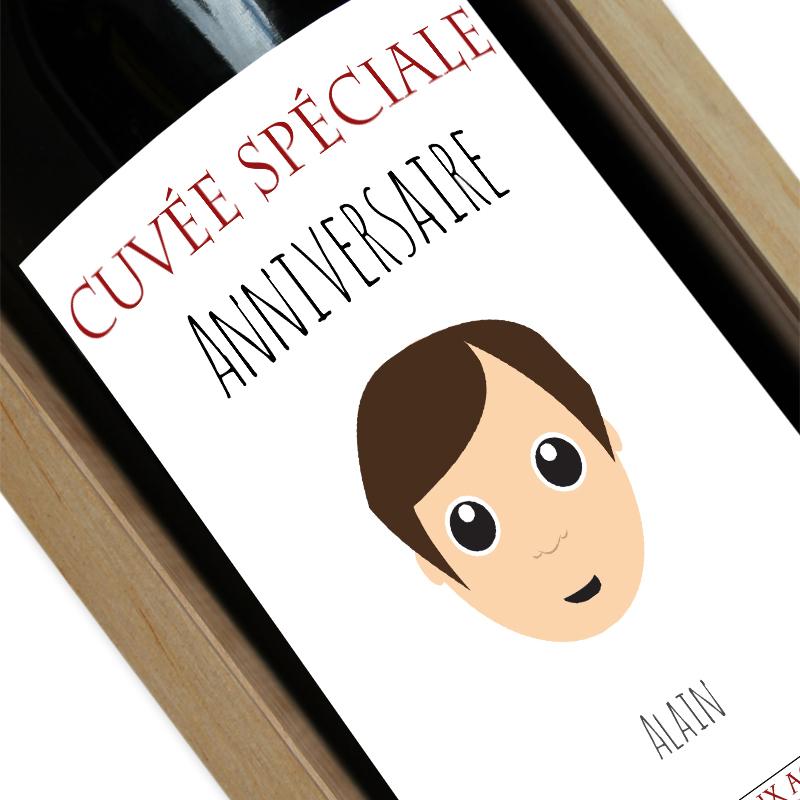 Bouteille de vin We Are Family