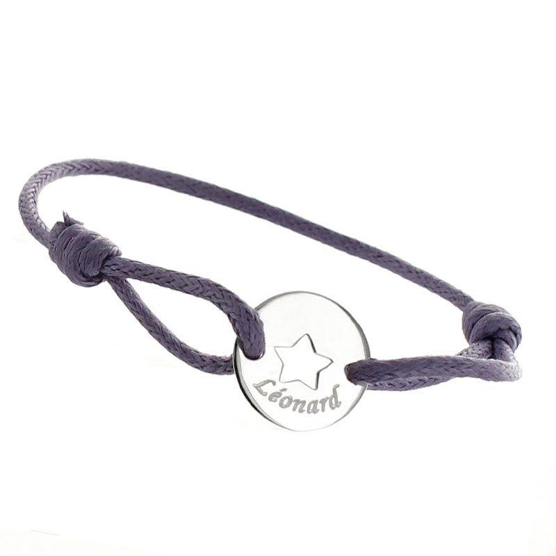 Bracelet enfant étoile ajourée