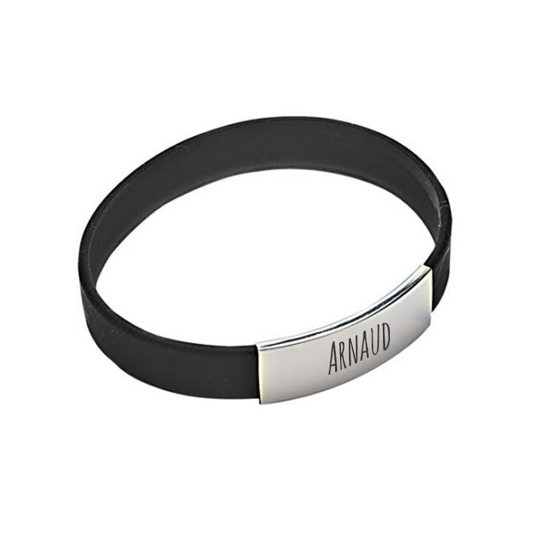 Bracelet homme en silicone : une idée de cadeau original | Amikado