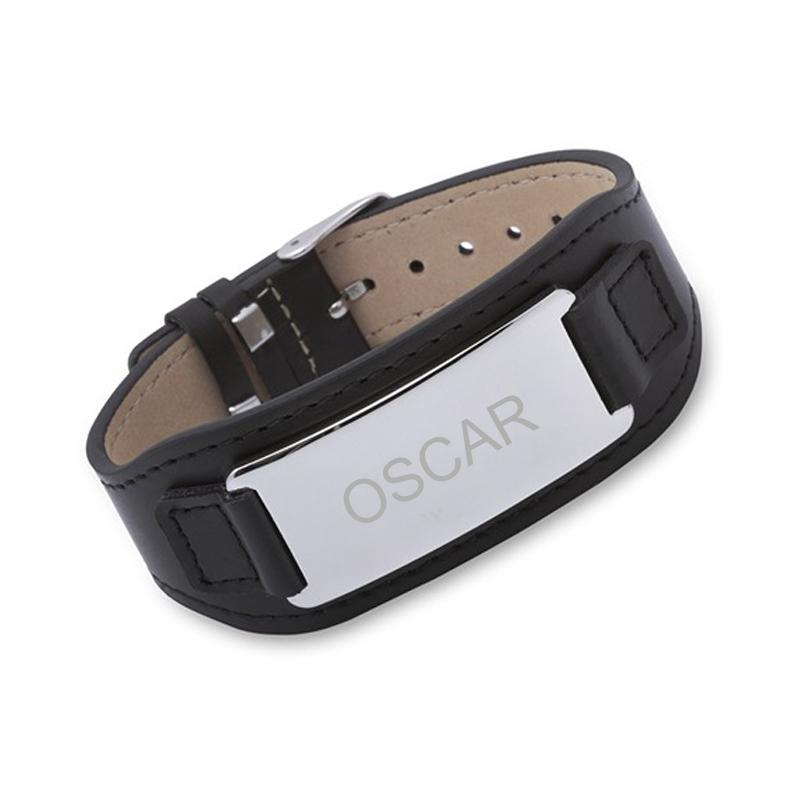 bracelet cuir homme personnalis une id e de cadeau original amikado. Black Bedroom Furniture Sets. Home Design Ideas