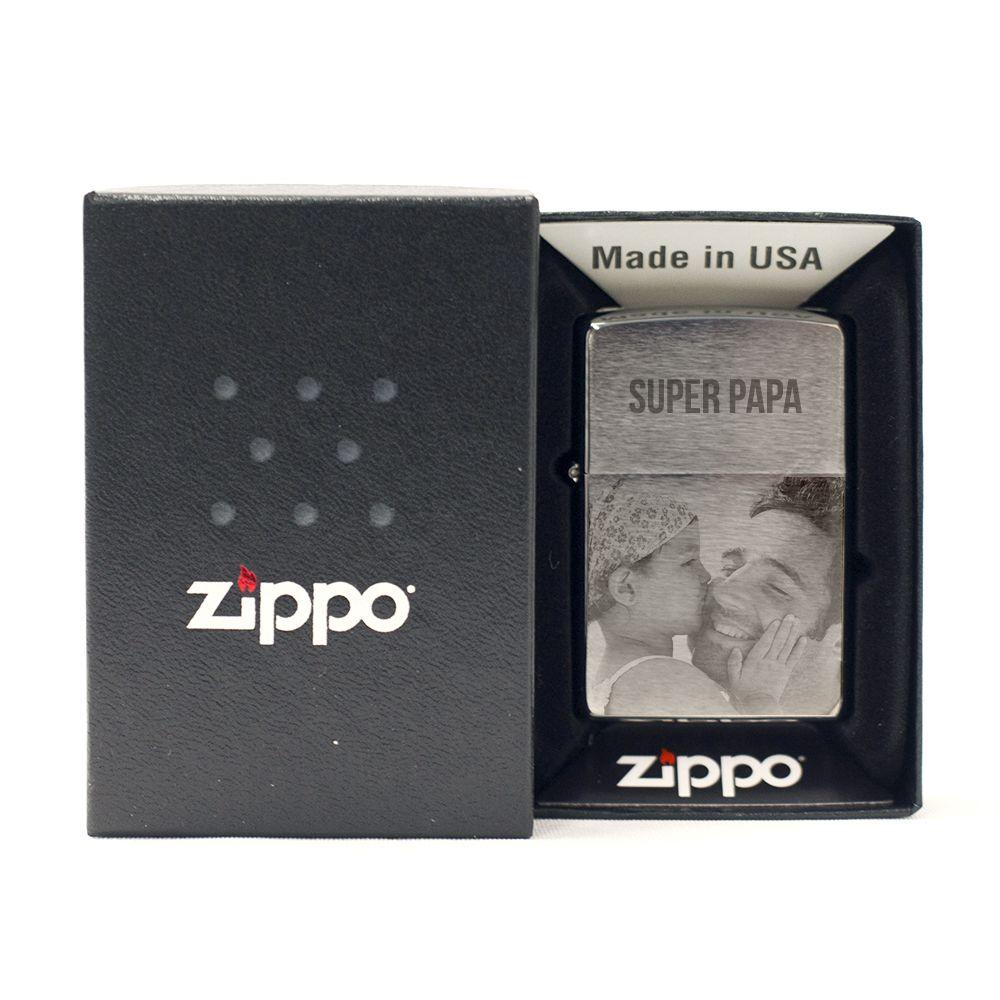 Zippo® personnalisable avec photo