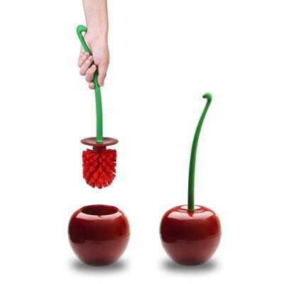 Brosse wc cherry : une idée de cadeau original | Amikado