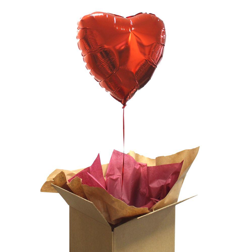 6fb806a031e Ballon coeur rouge gonflé à l Helium   une idée de cadeau original ...