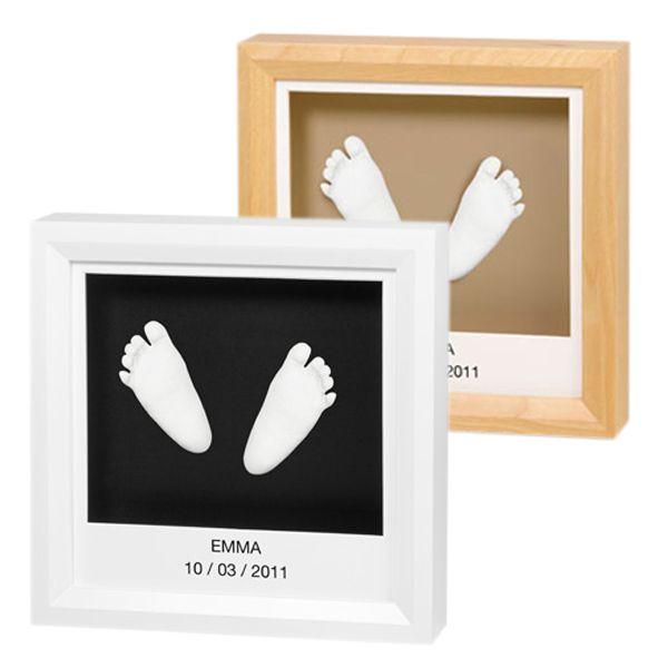 cadre empreintes baby art 3d personnaliser amikado. Black Bedroom Furniture Sets. Home Design Ideas