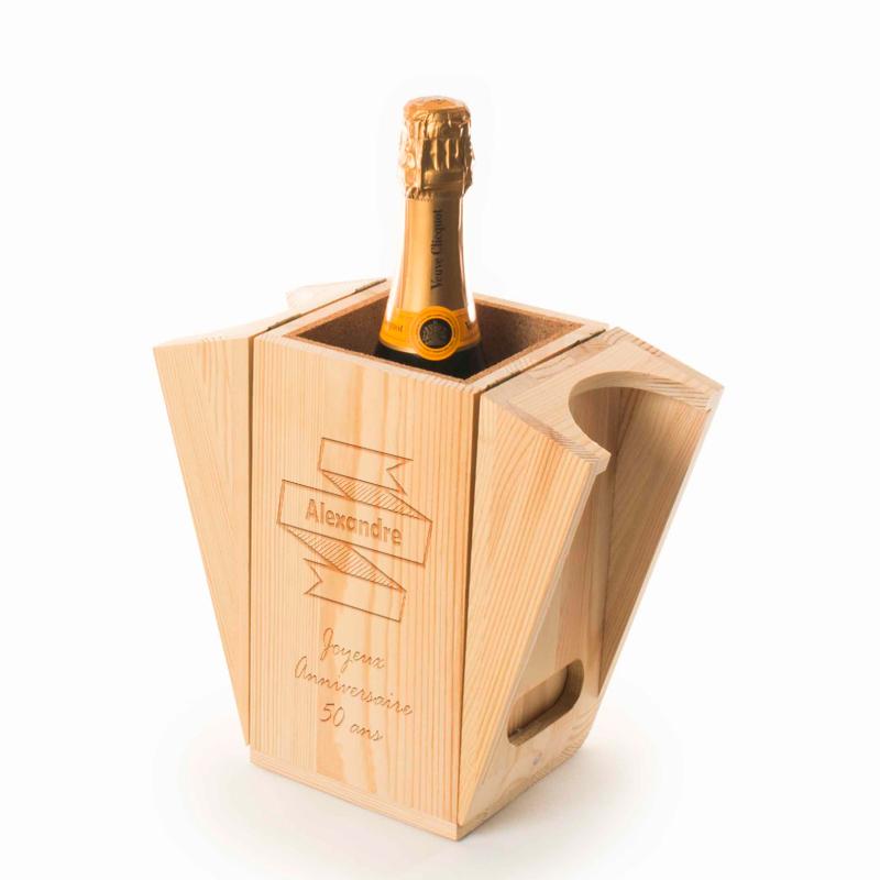 Caisse À champagne rafraichissante