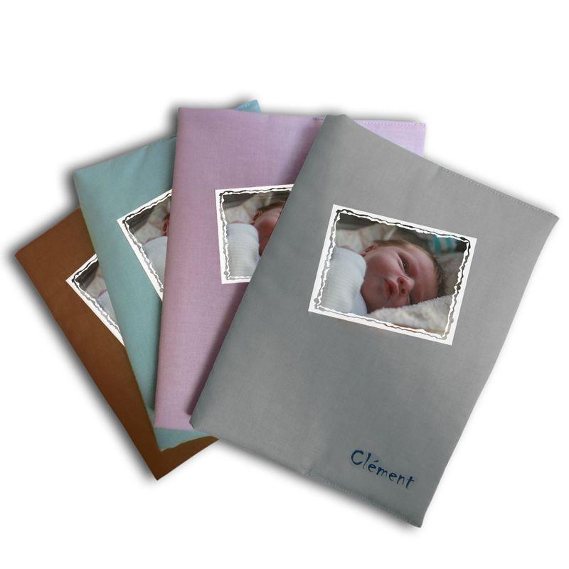 Un prot ge carnet de sant color et imprim avec une photo amikado - Carnet de sante de l enfant ...