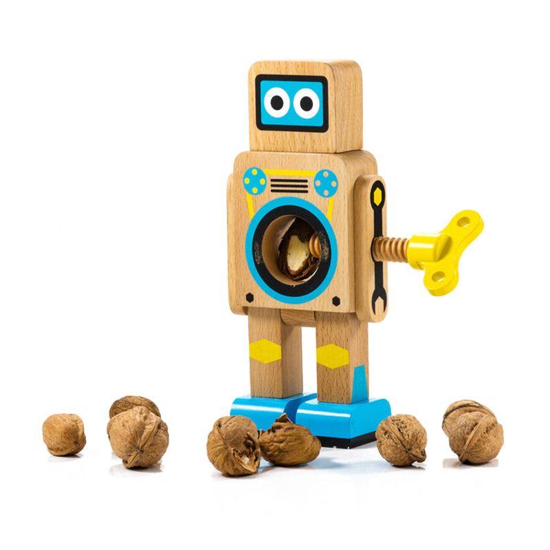 Casse noix robot en bois une id e de cadeau original - Casse noix en bois ...