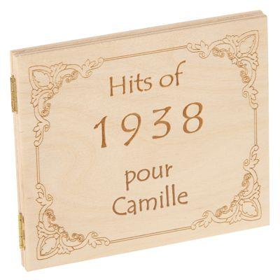 CD Hits de l'année de naissance