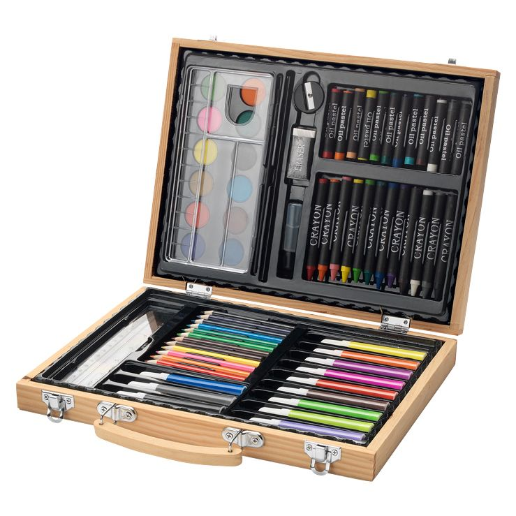 coffret dessin personnalis feutres crayons peinture craies amikado. Black Bedroom Furniture Sets. Home Design Ideas