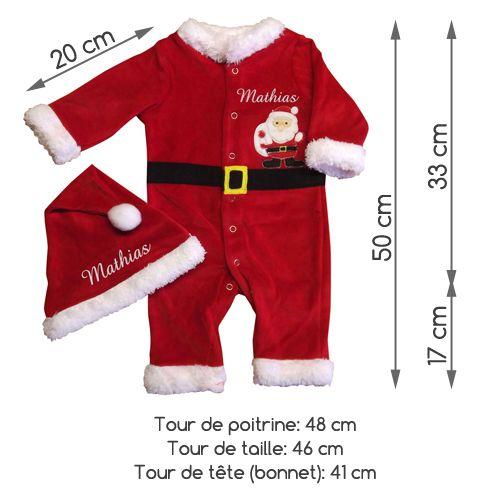 a86f277f1bd42 Pyjama Père Noël Bébé Garçon – Sherlockholmes Quimper