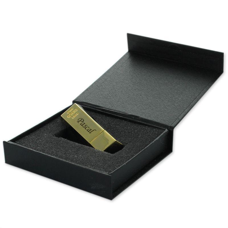 cl usb 8go lingot d 39 or personnalis e une id e de cadeau original amikado. Black Bedroom Furniture Sets. Home Design Ideas