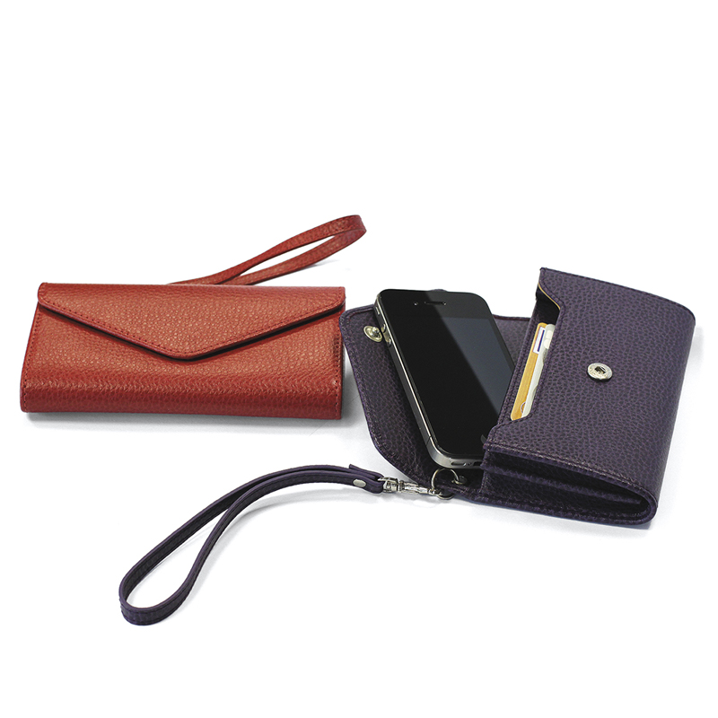Enveloppe Cuir pour smartphone et cartes