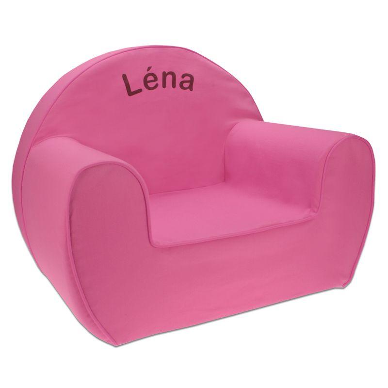 un fauteuil club pour enfant personnalis pr nom amikado. Black Bedroom Furniture Sets. Home Design Ideas