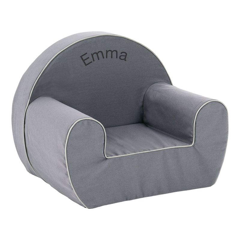 un fauteuil club pour enfant personnalis pr nom amikado. Black Bedroom Furniture Sets. Home Design Ideas