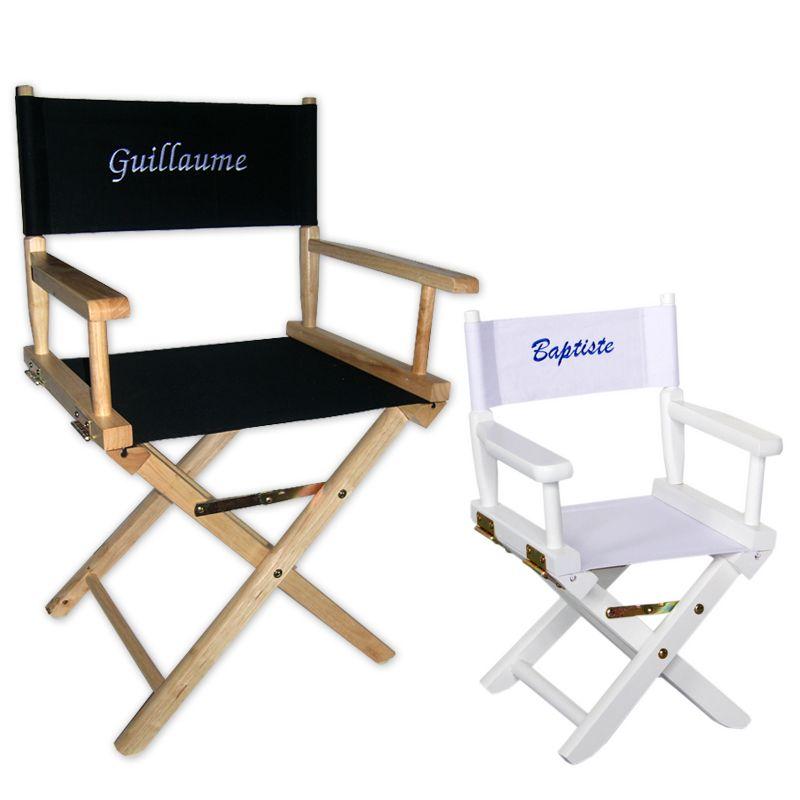 fauteuil de star personnalis avec broderie amikado. Black Bedroom Furniture Sets. Home Design Ideas