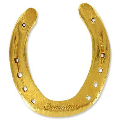 Cadeau porte bonheur un fer cheval personnalisable amikado - Divano a ferro di cavallo ...
