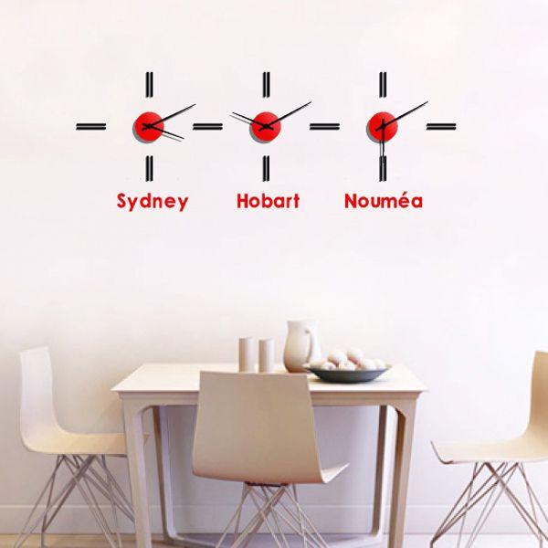 Horloge Sydney personnalisu00e9e : une idu00e9e de cadeau original ...