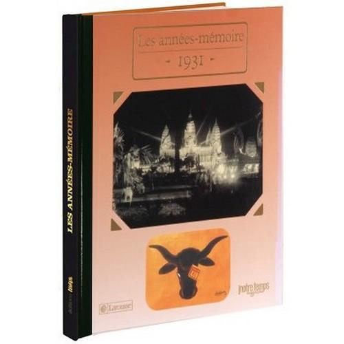 Livre mémoire de l'année 1931