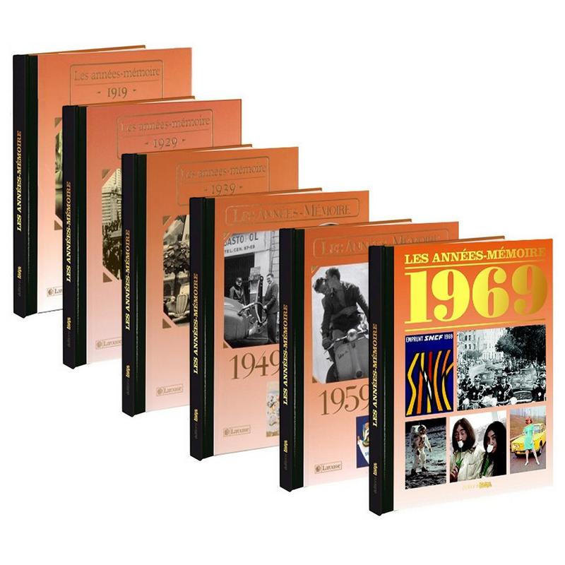 livre de l ann e de naissance de 1919 1969 amikado. Black Bedroom Furniture Sets. Home Design Ideas