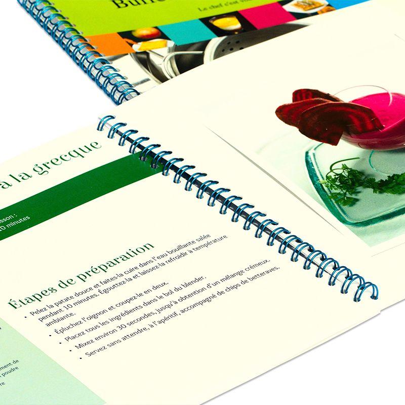 Mon livre de recettes personnalis une id e de cadeau - Livre de cuisine personnalise ...