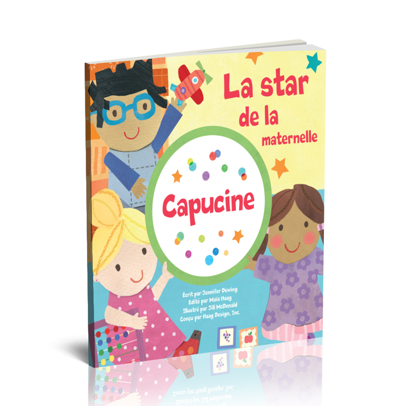Livre Personnalisé la star de la maternelle