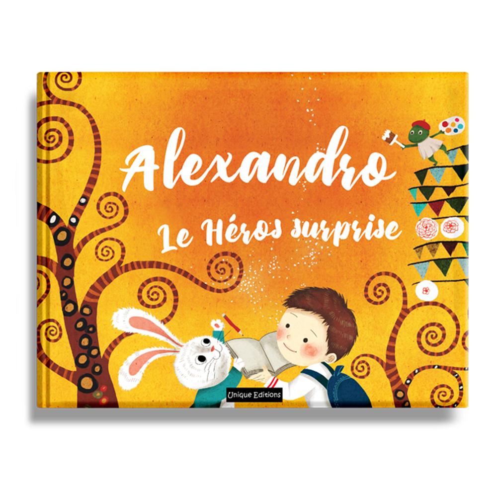 Livre Enfant Personnalise Heros Par Surprise 3 A 7 Ans Amikado