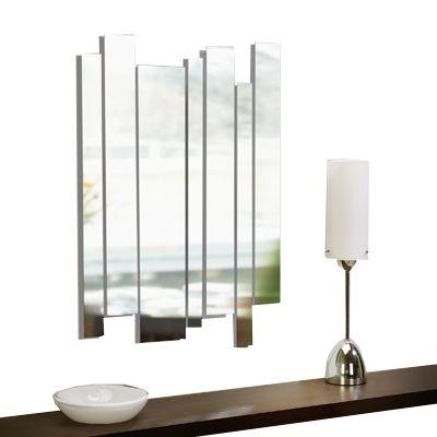 Miroir design bandes une id e de cadeau original amikado for Miroir 3 bandes
