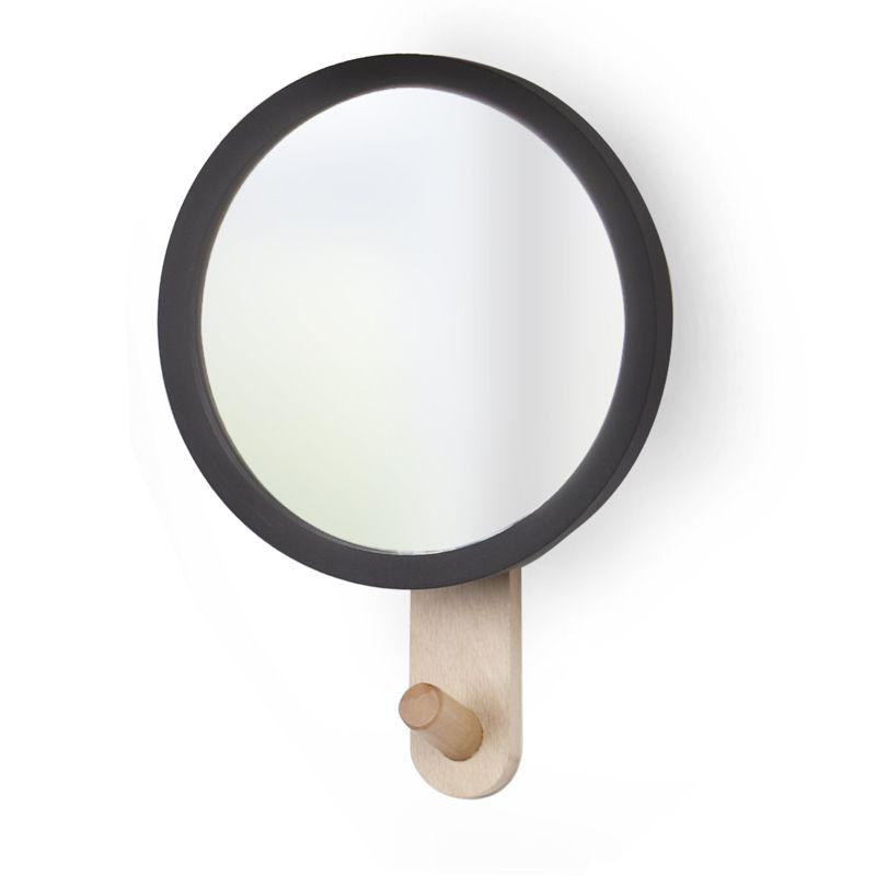 Miroir pat re hublot une id e de cadeau original for Miroir patere entree