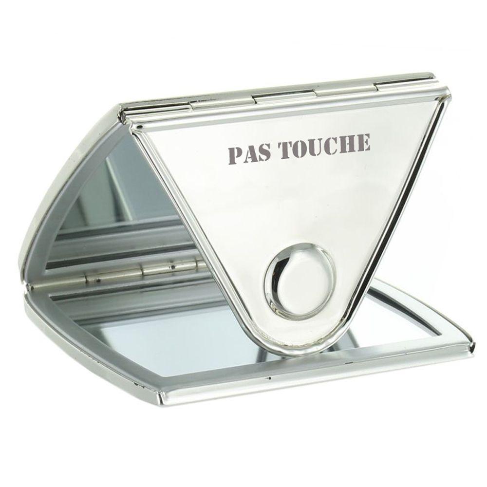 Miroir de sac personnalis avec message grav amikado for Miroir danielle