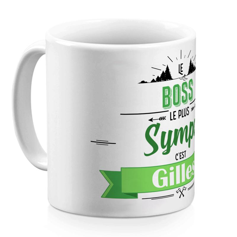 Mug personnalisé Evasion