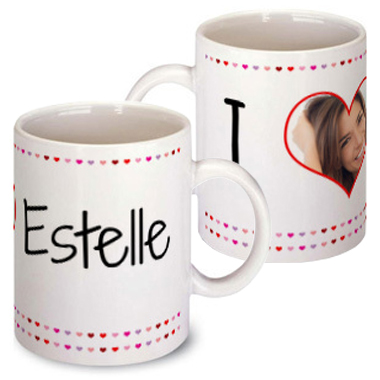 mug saint valentin photo personnalis amikado. Black Bedroom Furniture Sets. Home Design Ideas