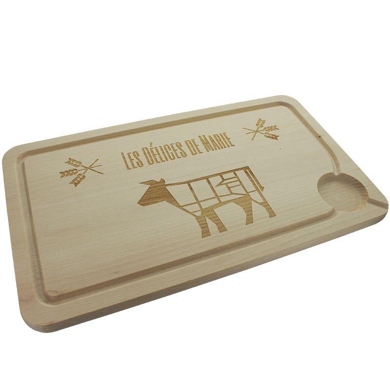 planche d couper en bois grav e une id e de cadeau original amikado. Black Bedroom Furniture Sets. Home Design Ideas