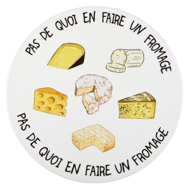 plateau pas de quoi en faire un fromage une id e de cadeau original amikado. Black Bedroom Furniture Sets. Home Design Ideas