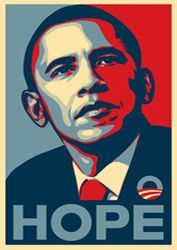 Portrait Pop Obama adulte