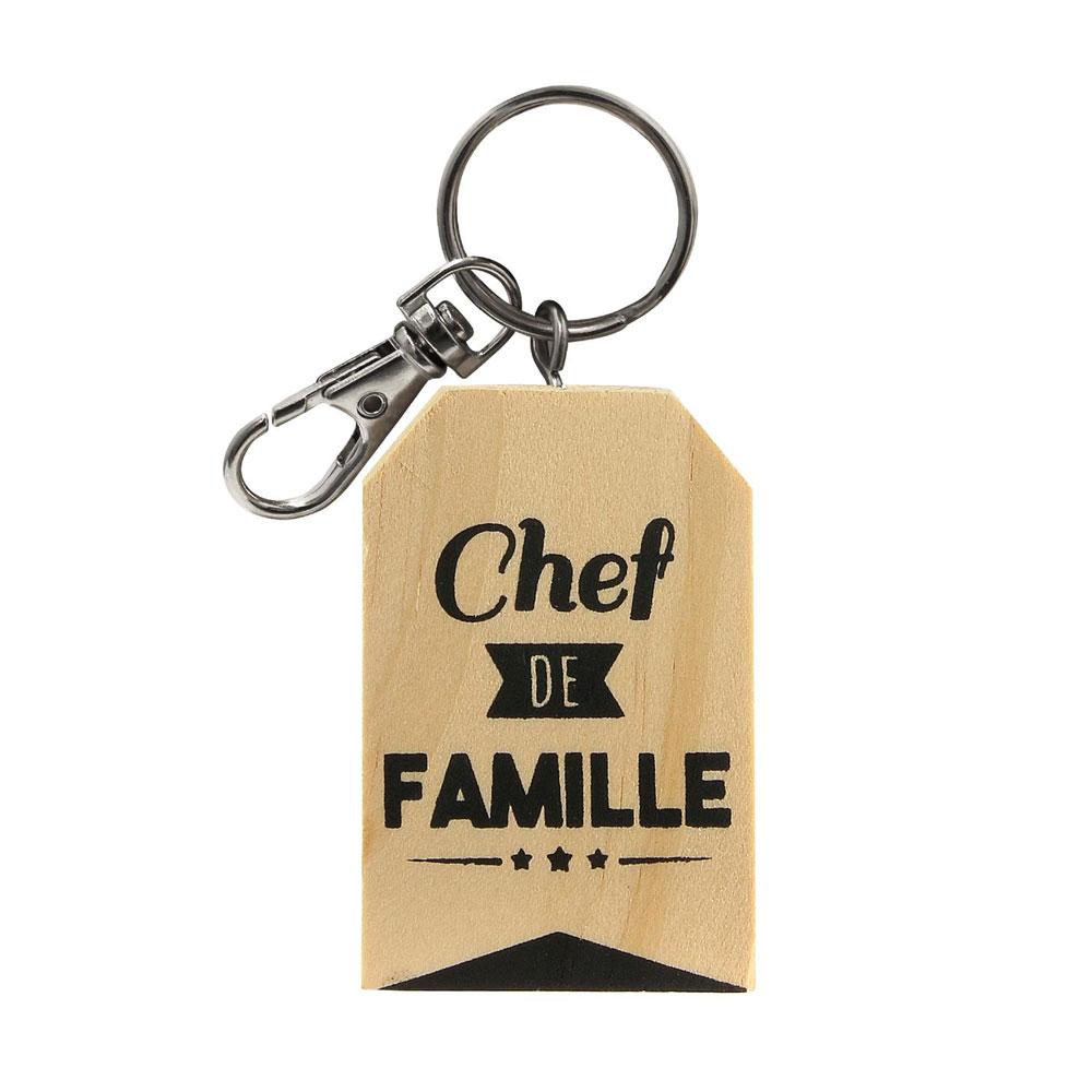 reasonably priced on wholesale latest design Porte-clés Chef de famille personnalisé : une idée de cadeau original |  Amikado