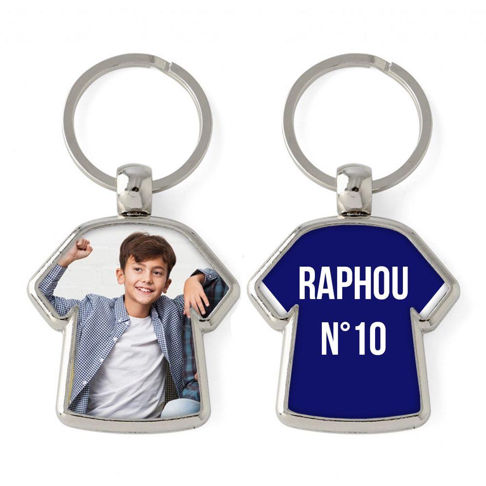 Porte-clés T-shirt personnalisé photo