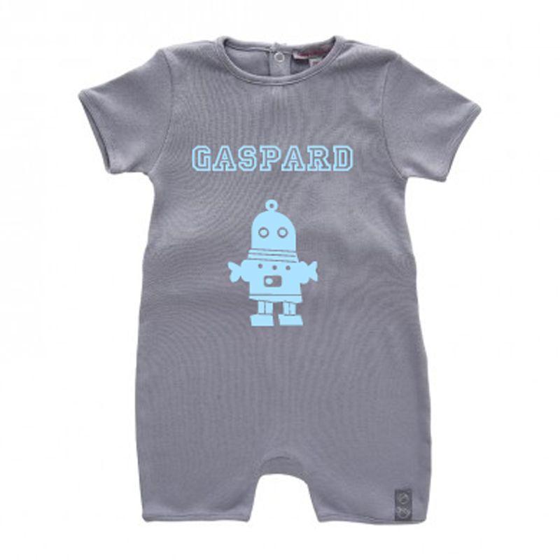Combinaison Bébé bio personnalisée