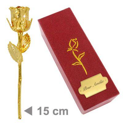 La Rose En Or Symbole De Votre Amour Eternel Amikado